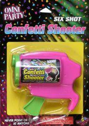 6 Units of Confetti Shooter Refillable - Streamers & Confetti