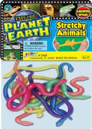 12 Units of Stretchy Animals 5X7 - Toys & Games