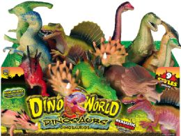 24 Units of Dinosaurs Large Bulk 12/Dply - Toys & Games