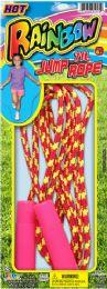 12 Units of Rainbow Jump Rope Asst - Seasonal Items