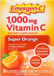 6 Units of Emergen C Orange 10Ct - Medical Supply