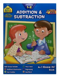 8 Units of School Zone Publishing Company An I Know It Book Addition & Subtraction - Books