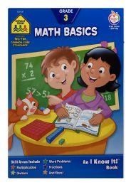 6 Units of School Zone Math Basics Book - Books