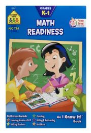 6 Units of School Zone Grades K-1 Math Readiness - Books