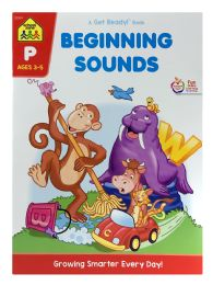 6 Units of School Zone A Get Ready! Book Beginning Sounds - Books