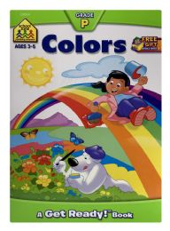 6 Units of School Zone Coloring Book - Books
