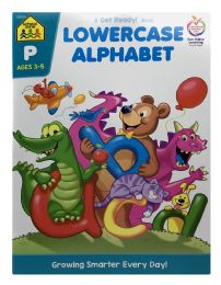 6 Units of School Zone Lowercase Alphabet A Get Ready Book - Books