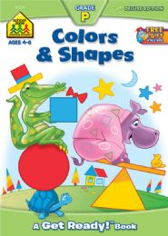 6 Units of Workbook Colors Shapes - Books
