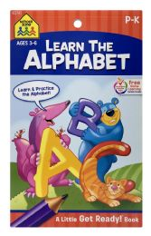 6 Units of School Zone Learn The Alphabet - Books