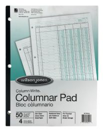 10 Units of Wilson Jones® Column Write® Pads - Note Books & Writing Pads