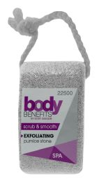 12 Units of Body Benefits By Body Image Pumice Stone - Bath And Body