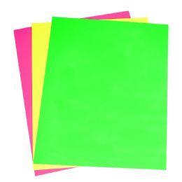 24 Units of Neon Poster Brd 3Ct Asst 22X28 - Poster & Foam Boards