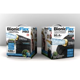 4 Units of As Seen On Tv Bionic Force Garden Hose 100ft - Garden Hoses and Nozzles
