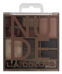 6 Units of L.a. Colors Eyeshadow Palette Ces135 - Nude - Eye Shadow & Mascara