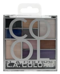 6 Units of L.a. Colors Eyeshadow Palette Ces137 - Cool - Eye Shadow & Mascara