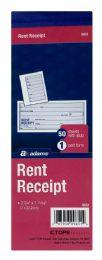 10 Units of Rent Receipt, 1-Part With Tear-Off Stub - Receipt book