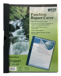 48 Units of Better Office Products Punch Less Report Cover - Book Covers