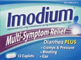 6 Units of Imodium Multi Symptom Caps - Medical Supply