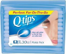 12 Units of Q Tips 30Ct Travel Size - Personal Care