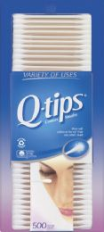 6 Units of Q Tips 500'S Value Pack - Baby Accessories