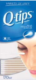 12 Units of Q Tips 170's - Baby Accessories