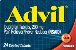 12 Units of Advil Tab 24'S - Pain and Allergy Relief