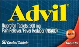12 Units of Advil Tabs 50 Ct - Pain and Allergy Relief