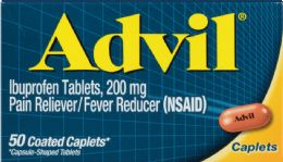 6 Units of Advil Caplets 50'S - Pain and Allergy Relief