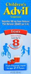 6 Units of Advil Chld Susp 4Z Frt $2 Irc - Pain and Allergy Relief