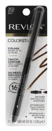4 Units of Revlon Colorstay Eyeliner 203 Brown - Lip & Eye Pencil