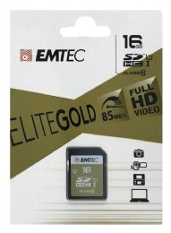 10 Units of Emtec 16 Gb Memory Card - Office Supplies