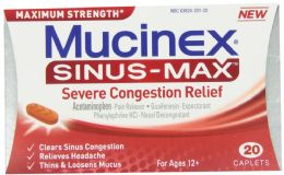 2 Units of Mucinex Cap 20Ct Sns Sv/Cng - Medical Supply