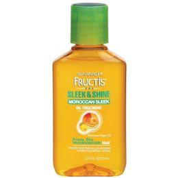 6 Units of Garnier Fructis Sleek & Shine Moroccan Sleek Oil Treatment For Frizzy Hair, 3.75 Fl. Oz. - Hair Products