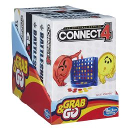 8 Units of The Original Games Of Connect 4 & Grab go - Seasonal Items
