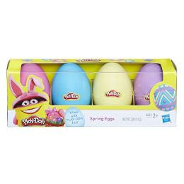 8 Units of PlaY-Doh Treat Without The Sweet Spring Eggs 4-Pack - Clay & Play Dough