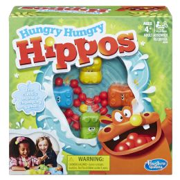 4 Units of Hungry Hungry Hippos The Classic Marbie Chomping Game! - Toys & Games