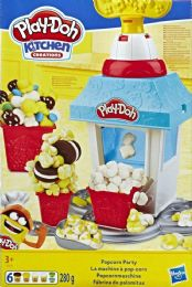 4 Units of Playdoh Po Pcorn Party - Clay & Play Dough