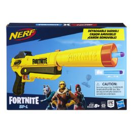 4 Units of Nerf Fortnite Sp-L Nerf Elite Dart Blaster With Detachable Barrel - Toy Weapons