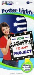 12 Units of Artskill Poster Lights - Arts & Crafts