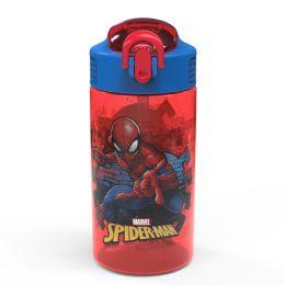6 Units of Zak Designs Marvel Comics Bpa Free SpideR-Man 16 Oz Water Bottle - Baby Bottles