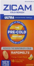 8 Units of Zicam Rapid Melt L/act Org 18s - Medical Supply