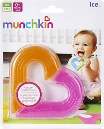 8 Units of Munchkin Heart Teether - Baby Accessories