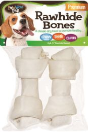 12 Units of Bwow Rawhide Bones 2pk - Pet Chew Sticks and Rawhide