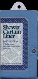 12 Units of Shower Curtain Liner Blue - Shower Curtain