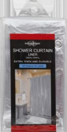 12 Units of Shower Curtain Liner Clear - Shower Curtain