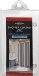 6 Units of Peva Shower Curtain Liner - Shower Curtain
