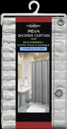 6 Units of Peva Shower Curtain Liner 3 D - Shower Curtain