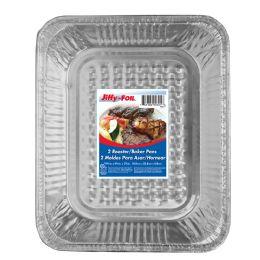 48 Units of Jiffy Foil Roaster/baker Pan 2ct - Pots & Pans
