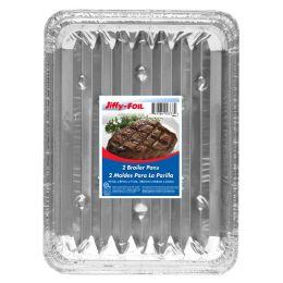 36 Units of Jiffy Foil Broiler Pans 2ct - Pots & Pans