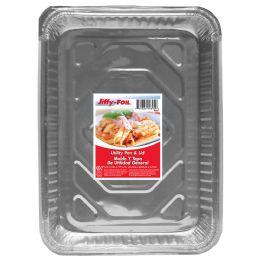 44 Units of Jiffy Foil Utility Pan W/lid - Pots & Pans